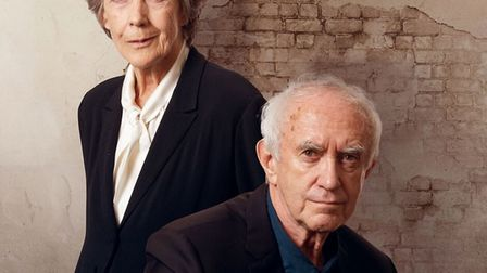 Eileen Atkins and Jonathan Pryce in The Height of the Storm