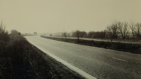 The A1 at the time of the incident.