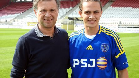 Marco Merlo was full of praise for Ben Herd Pro Performance Academy after signing for Czech National
