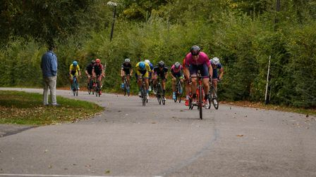 Verulam Reallymoving's Jared Miller wins the League of Veteran Racing Cyclists national criterum cha