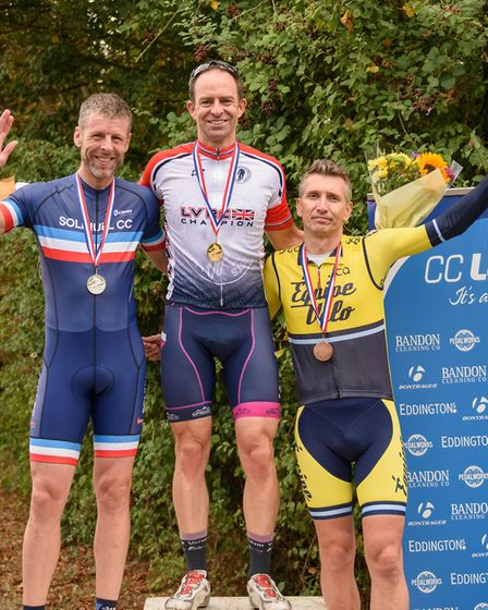 Verulam Reallymoving's Jared Miller won the League of Veteran Racing Cyclists national criterum cham