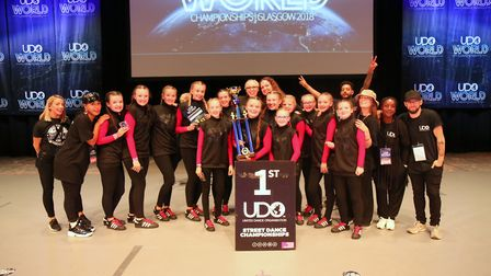 St Neots dancers crowned world champions