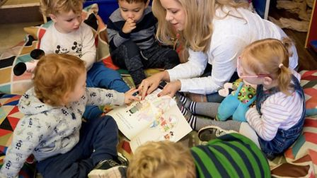 Children's author Stacey Turner specialises in separation anxiety.