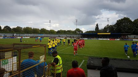 St Albans City hosted Eastbourne Borough in the Vanarama National League South at Clarence Park.