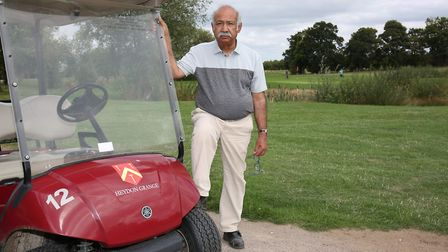 Heydon Grange Golf and Country Club owner John Akhtar. Picture: DANNY LOO