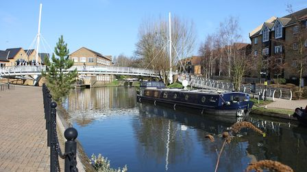 The Grand Union Canal, Apsley.Picture: Karyn Haddon