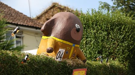 The Flamstead Scarecrow Festival 2018. Picture: DANNY LOO