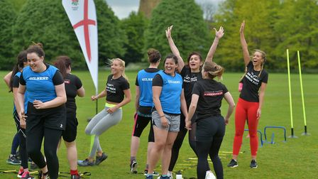 England Rugby's inner warrior camps is coming to Harpenden Rugby Club.