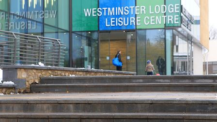 Westminster Lodge Leisure Centre. Photo: Danny Loo.