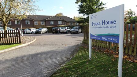 Fosse House care home. Picture: Danny Loo.