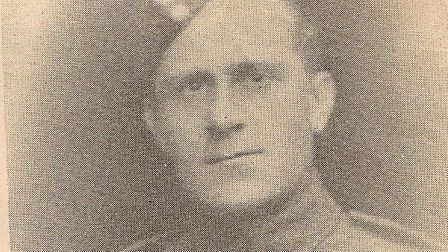 Alan Cecil's great uncle Walter G Offord. Picture: Courtesy of Alan Cecil