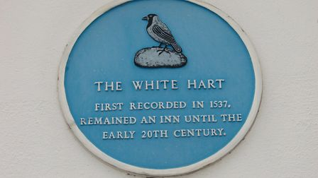 The former White Hart pub. Picture: Courtesy of Alan Cecil