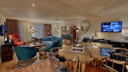 Covet London brought together an eclectic mix of pieces in a London show flat it described as the ul