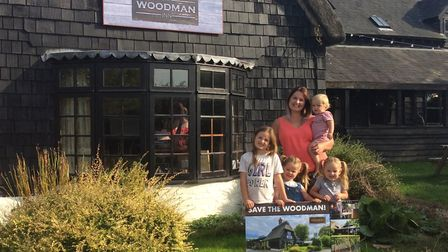 The Woodman Inn in Nuthampstead is being threatened with closure - despite serving the community for