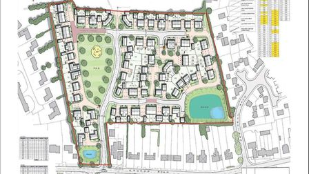 The proposed site in Bury