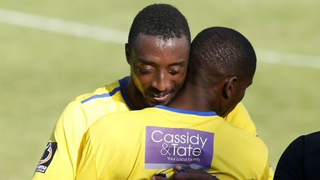 Ralston Gabriel made way for Khale Da Costa shortly before the sub secured all three points for the