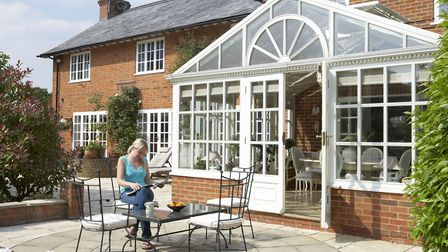 The simplest home addition is a conservatory. Picture: Thinkstock/PA