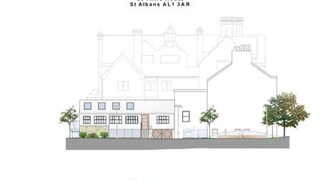 How the south elevation at 25 Alma Road will look. Picture: Clarence Property Group