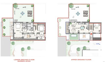 Floorplans of 25h Alma Road, St Albans. Picture: Clarence Property Group