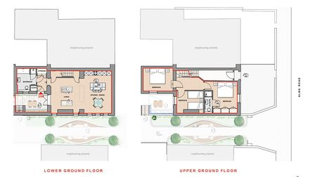 Floorplans of 25a Alma Road, St Albans. Picture: Clarence Property Group