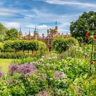 The gardens at Knebworth House