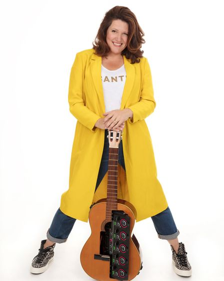 Kate Dimbleby will play Folkstock's gig in Baldock