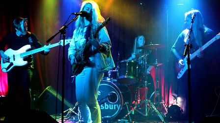 DIDI and her band will play The White Lion in Baldock. Picture: Tony Birch
