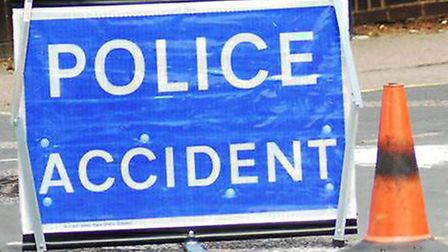 Police attended a crash in Royston Road, Barkway.