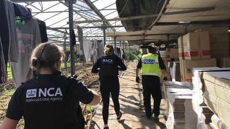 Eight potential modern day slavery victims have been safeguarded after a multi-agency operation was