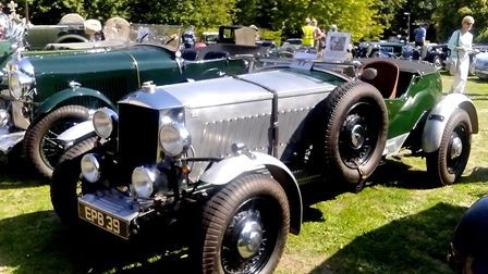 Robin Richardson's 1936 Railton LST Special with a top speed of 100mph from its 4.2 litre straight 8