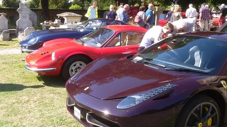 The Friends of Holy Trinity Meldreth held their 14th car show. Picture: John Price