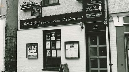 The British Raj restaurant in Royston back in the 1970s. Picture: Courtesy of Royston & District Mus