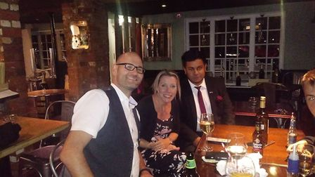 The launch has included a Indian cuisine and wine pairing evening. Picture: Courtesy of Safwaan Cho
