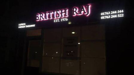 The British Raj takeaway in Royston. Picture: Courtesy of Safwaan Choudhury
