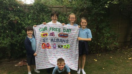 World Car Free Day in St Albans. Picture: Caroline Brooke
