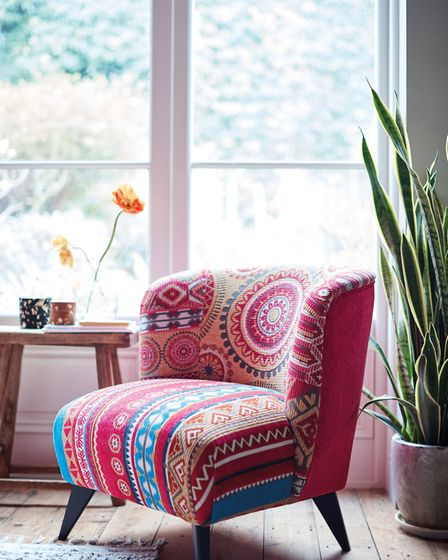 Keep the Summer Vibe Alive: Salsa Accent Chair, £349, DFS. Picture: DFS/PA Photo/Handout