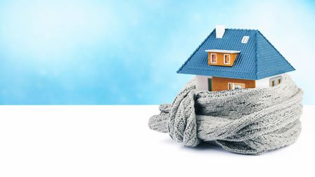 Now is a good time to check that your home is properly insulated, before winter sets in. Picture: Th