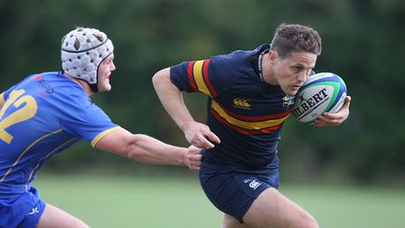 Verulamians V Tabard - Aled Davies in action for Tabard.Picture: Karyn Haddon