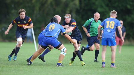 Verulamians V Tabard - Will James in action for Tabard.Picture: Karyn Haddon