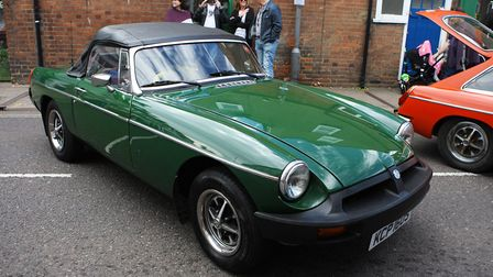St Albans Time Turner Festival - Classic cars on display.Picture: Karyn Haddon