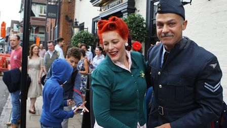 St Albans Time Turner Festival - Jive Swing dancing on the streets of St Albans.Picture: Karyn Ha