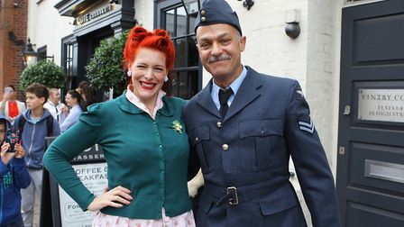St Albans Time Turner Festival - Claire and David from Jive Swing.Picture: Karyn Haddon