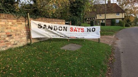 The Sandon Action Group have been fighting against the application to turn Sandon Bury Farm into an
