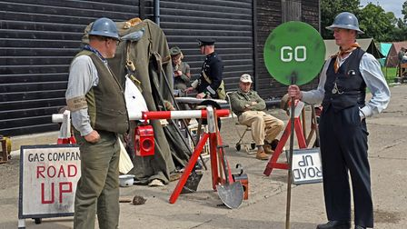 The 1940s weekend took place at The Camp, in Ramsey. Picture: ARCHANT