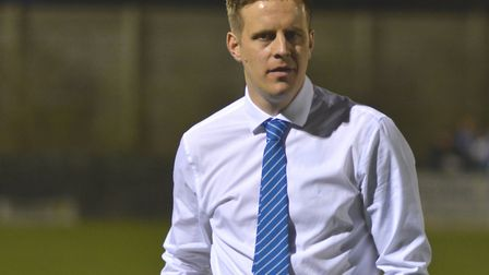 Eynesbury Rovers manager Mark Ducket returned to the dugout at Histon after a stadium ban.