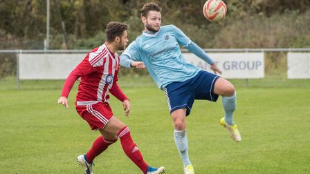 Joe Furness scored from the penalty spot as Godmanchester Rovers thumped Thetford Town in the FA Cup