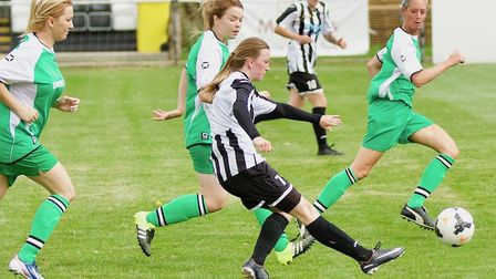 Katie Stancombe scored an extra-time winner for St Ives Town Ladies in the Women's FA Cup. Picture: