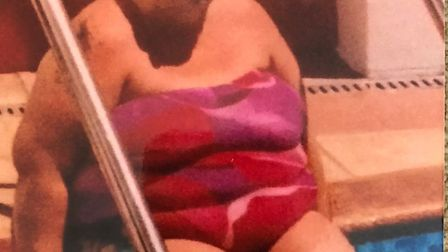 Mandy before she joined Slimming World