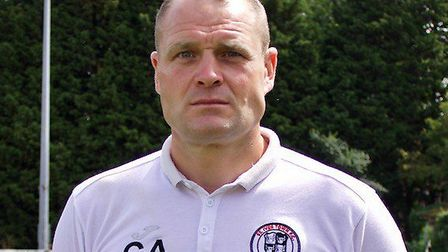 St Ives Town assistant manager Craig Adams. Picture: LOUISE THOMPSON