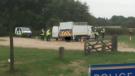 Operation Kendal on St Albans Road. Picture: Herts police